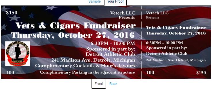 Vets & Cigars Fundraiser